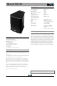 Mach M72I Speaker System Manual, Page 1