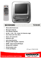Magnavox MC09D5MG - 9