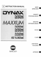 DYNAX 500si, Page 1