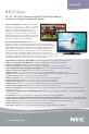 NEC E321 | Page 1 Preview