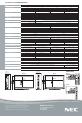 NEC E321 | Page 2 Preview