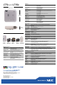 Preview Page 2 | NEC LT75Z - MultiSync SVGA DLP Projector Projector Manual