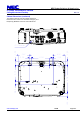 NEC NP-P350W Projector Manual, Page 4