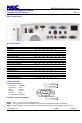 Page #6 of NEC NP-P350W Manual