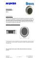 M-LOCKS Bravo BR5010 Security System, Page 1