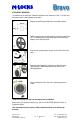 M-LOCKS Bravo BR5010 Technical manual, Page 2