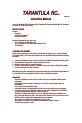 MGA Entertainment Tarantula 27 MHz Ascendor EKO-05 Toy Manual, Page 1