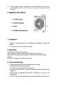 Page #3 of UNITED UBF-626 Manual