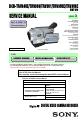 Sony DCR-TRV350 - Digital Handycam Camcorder Manual, Page #1