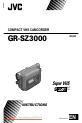 JVC GR-SZ3000 | Page 1 Preview