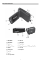 Page 4 Preview of Vivitar DVR 558HD Operation & user's manual