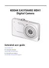 Kodak MD41 - EXTENDED GUIDE