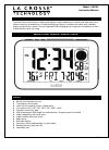 La Crosse C85183 Instruction Manual 10 pages