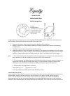 La Crosse Equity 29004 Operating Manual 2 pages