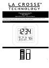 La Crosse KWS-8140U-IT Instruction Manual 10 pages