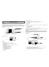 La Crosse WS-7098U Operating Manual 7 pages