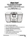 Lenoxx SL-326 Operating Instructions Manual 20 pages