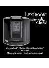 LEXIBOOK RL2000 Instruction Manual 70 pages