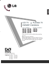 LG 26LC4D Series