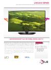 LG 60LN5400 Specfications