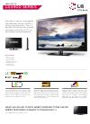 LG 42LS3400 Brochure