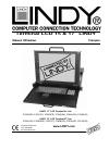 Lindy Laptop Manuel Utilisateur 8 pages