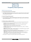Mackie X.200 Frequently asked questions manual