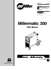 Miller Electric Millermatic 300