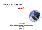 MiTAC 8050D Service Manual 186 pages