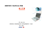 MiTAC 8170 Service Manual 217 pages