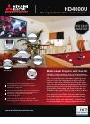 Mitsubishi HD4000U Brochure & specs