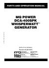 MULTIQUIP DCA-400SPK