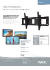 NEC LCD5220-AV - MultiSync - 52