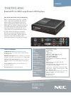 NEC X461UNV Specifications 1 pages