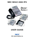 NEC PowerMate 2000 Series Operation & User's Manual 10 pages