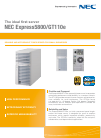 NEC EXPRESS5800 N8403-019 Specifications 2 pages