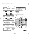 NEC PowerMate CT Configuration Manual 1 pages