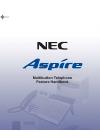 NEC Aspire Feature Handbook 164 pages