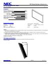 NEC LCD3215 - MultiSync - 32