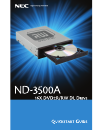 NEC ND-3500A Quick Start Manual 14 pages