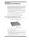 NEC VERSA LXI VERSABAY III DVD-ROM DRIVE Instructions Manual 8 pages