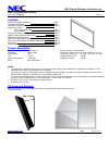 NEC S401 Installation Manual 11 pages