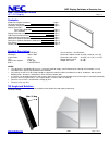 NEC S461 Installation Manual 11 pages