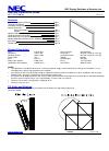 NEC X462UN Installation Manual 10 pages