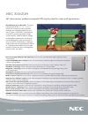 NEC X462UN Specifications 2 pages