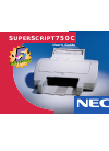 NEC SuperScript 750C Operation & User's Manual 104 pages