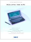 NEC SuperScript 750C Brochure & Specs 4 pages