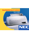NEC SuperScript 150C Operation & User's Manual 102 pages