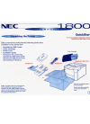 NEC SuperScript 1800 Quick Start Manual 8 pages