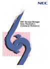 NEC Storage Manager Reference 134 pages